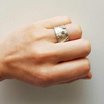 R 59 Zilveren Ring