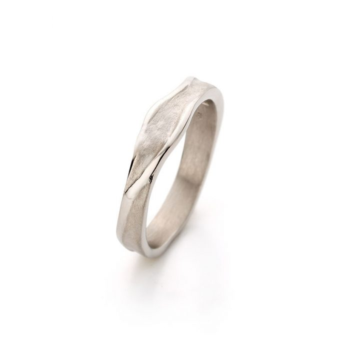 White gold ring N° 023