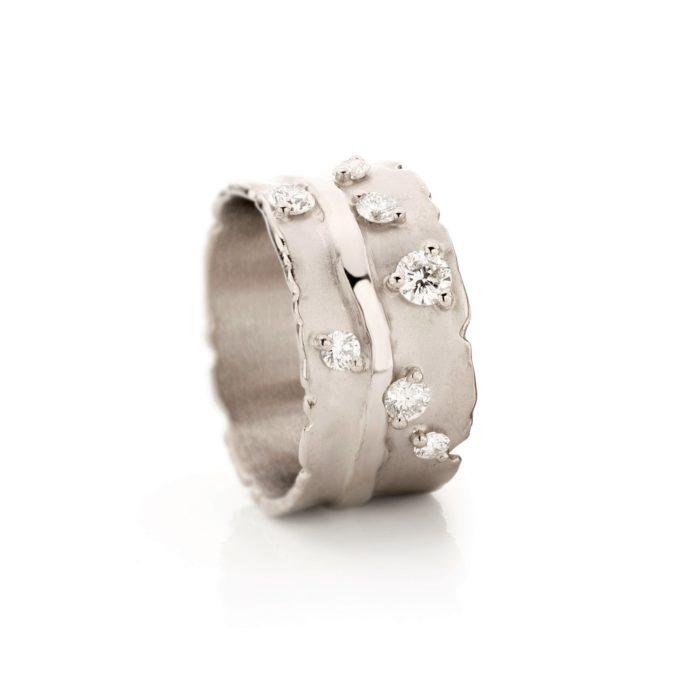 Witgouden Ring N° 58