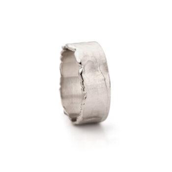 N° 010 White Gold Men Ring