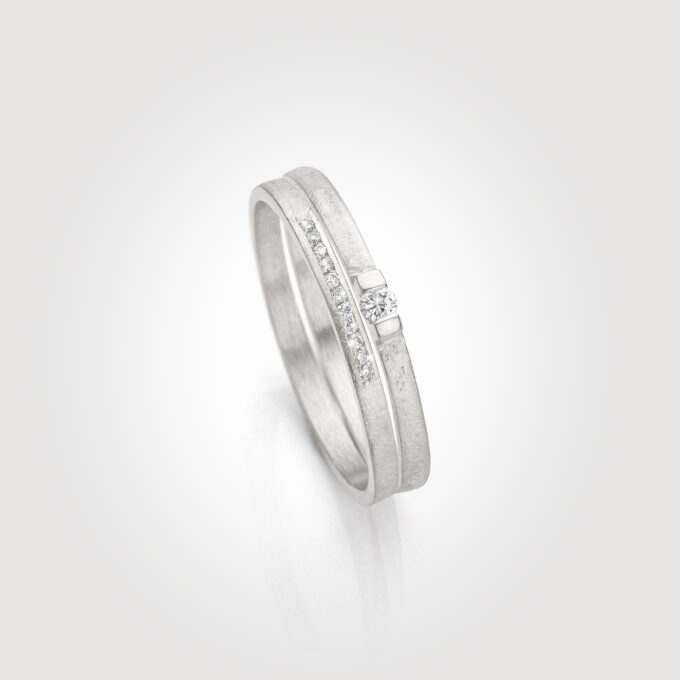 Stackable Bridal ring sets page banner