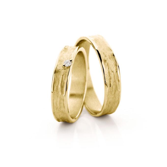 Weddding Rings N° 22_1 yellow gold