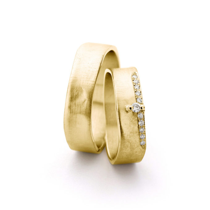 Wedding Bands N° 11-2_11 yellow gold