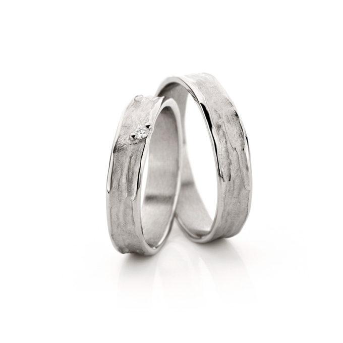 Wedding Bands N° 22_1 white gold rhodium diamond