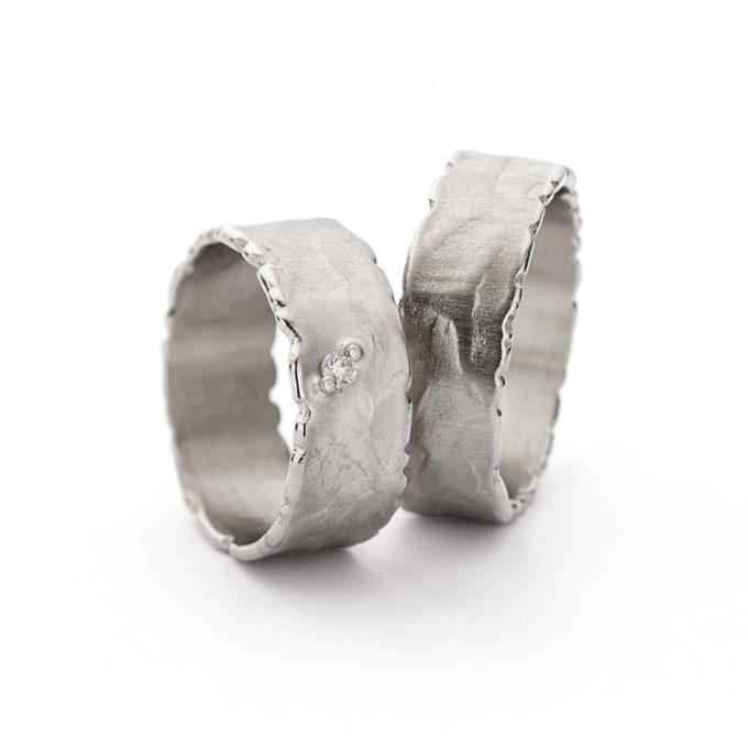 Wedding Bands N° 41_1 white gold rhodium