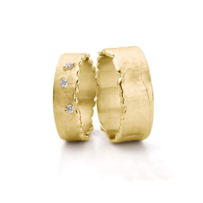 Wedding Rings N° 10_3 yellow gold