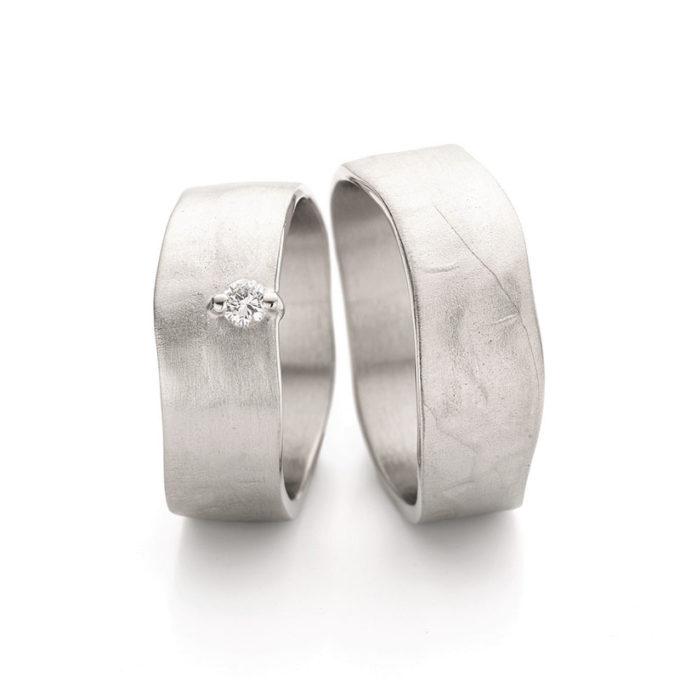 Wedding Rings N° 11-1_1 white gold rhodium diamonds