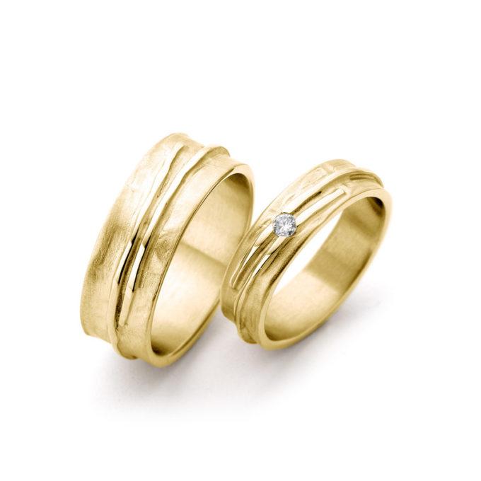 Wedding Rings N° 14_1 yellow gold