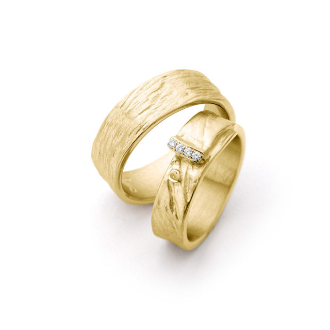 Wedding Rings N° 16_4 yellow gold
