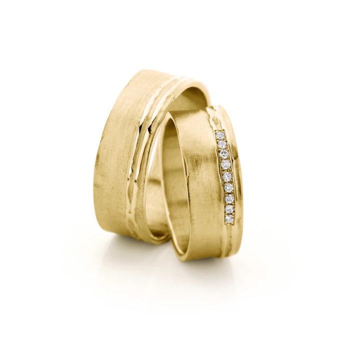 Wedding Rings N° 18_9 yellow gold