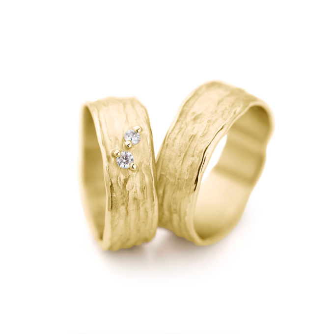 Wedding Rings N° 28_2 yellow gold