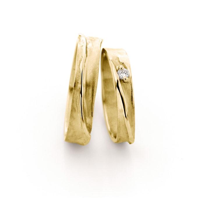 Trouwringen N° 39_1 geel goud