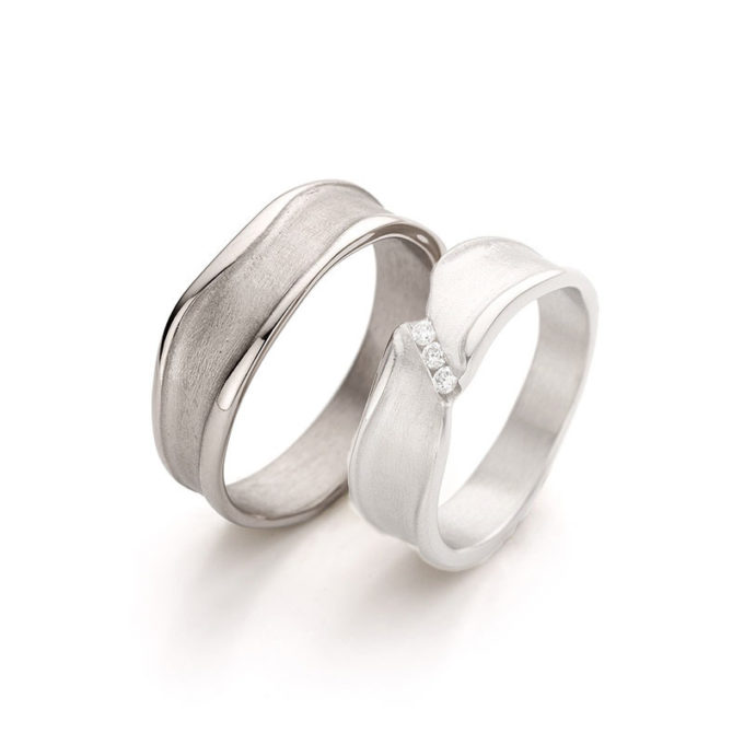 Wedding Rings N° 44_3 mans ring