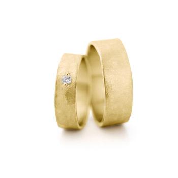 Geel gouden trouwringen N° 6_1
