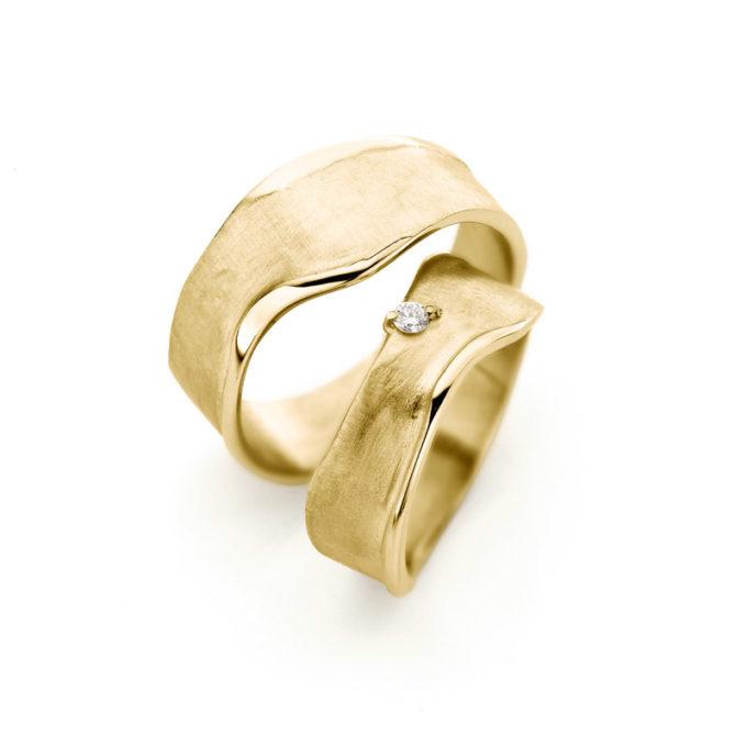 Wedding Rings N° 8_1 yellow gold