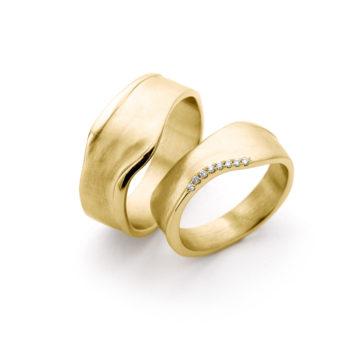 Wedding Rings N° 8_8 yellow gold
