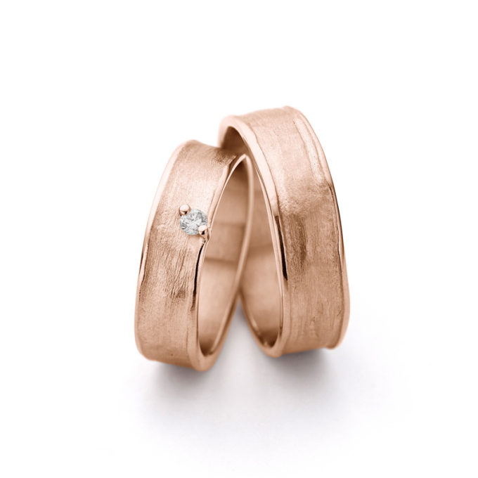 Rosé gouden trouwringen N° 9_1