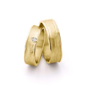Geel gouden trouwringen N° 9_1