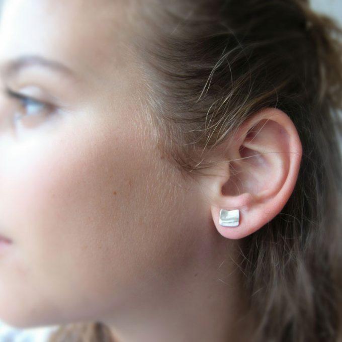 Zilveren oorbellen N° 039 model