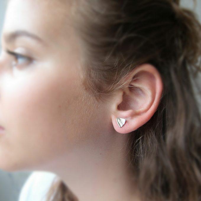 Zilveren oorbellen N° 034 model