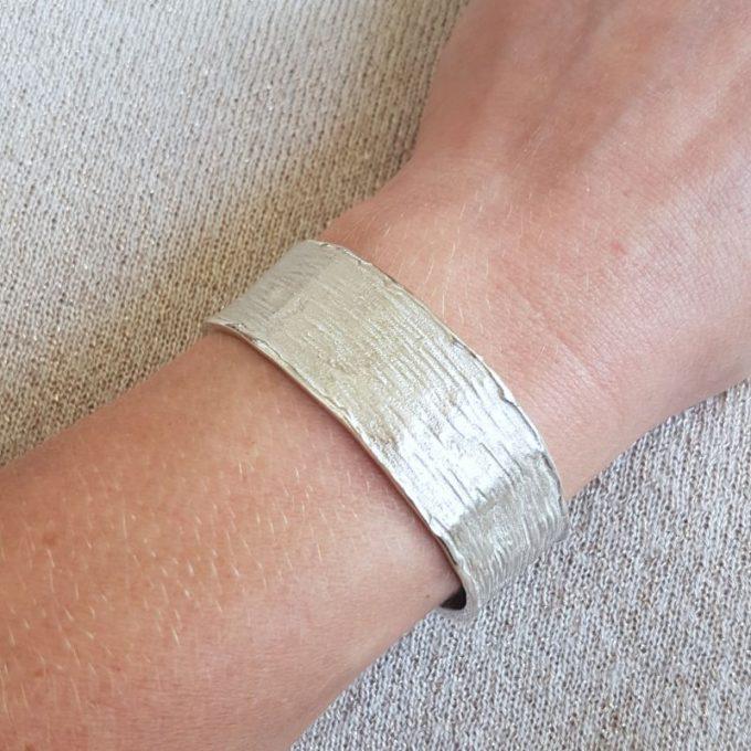 Zilveren armband N° 195 Modelfoto