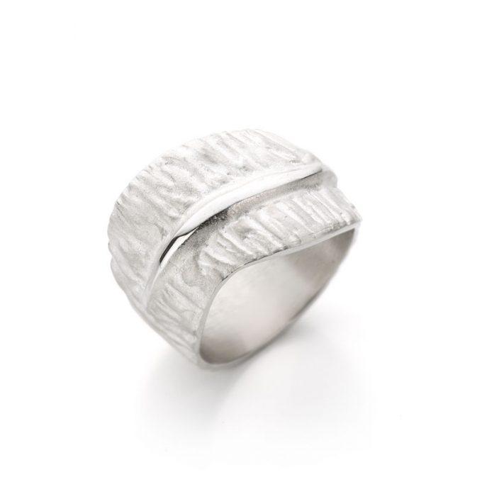 Silver ring N° 018