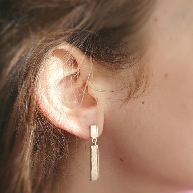 Zilveren oorbellen N° 212 model