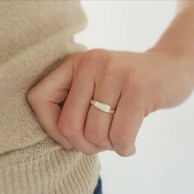 Zilveren ring N° 024 model