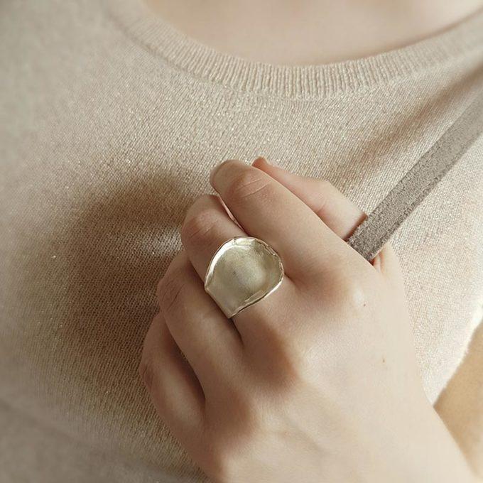 Silver ring N° 159 model