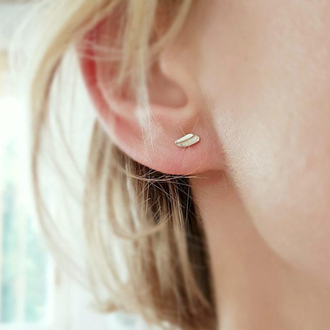 Zilveren oorbellen N° 035 model