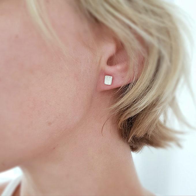 Zilveren oorbellen N° 036 model