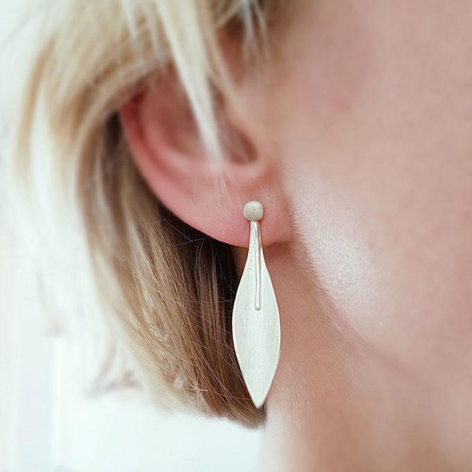 Zilveren oorbellen N° 191 model