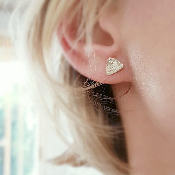 Zilveren oorbellen N° 034 SET model