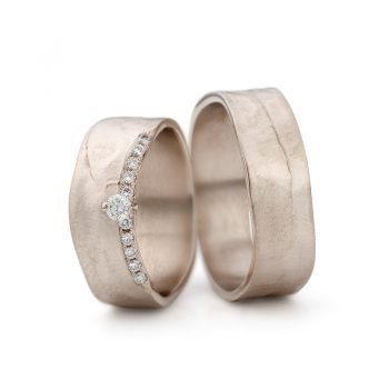 White gold wedding rings N° 11_1_11