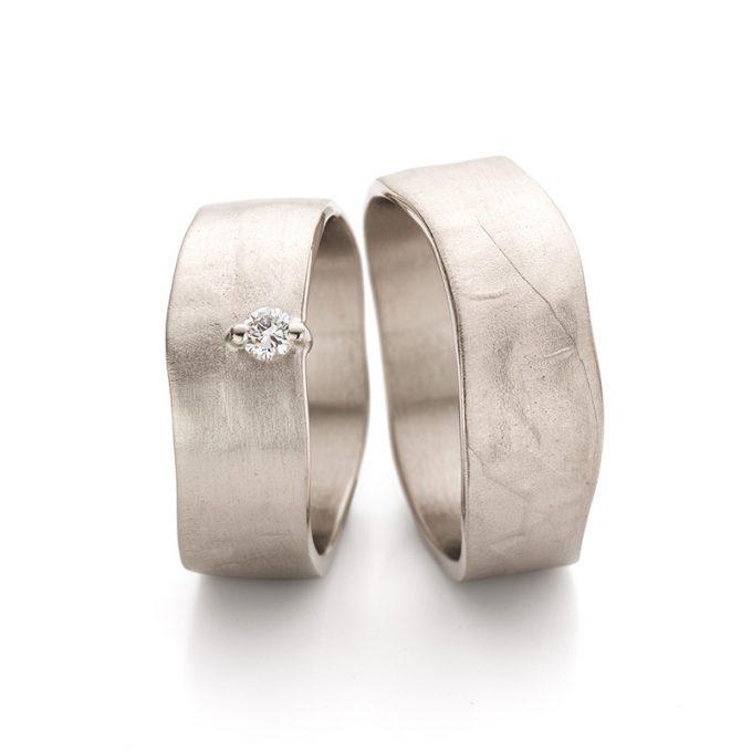 White gold wedding rings N° 11_1_1