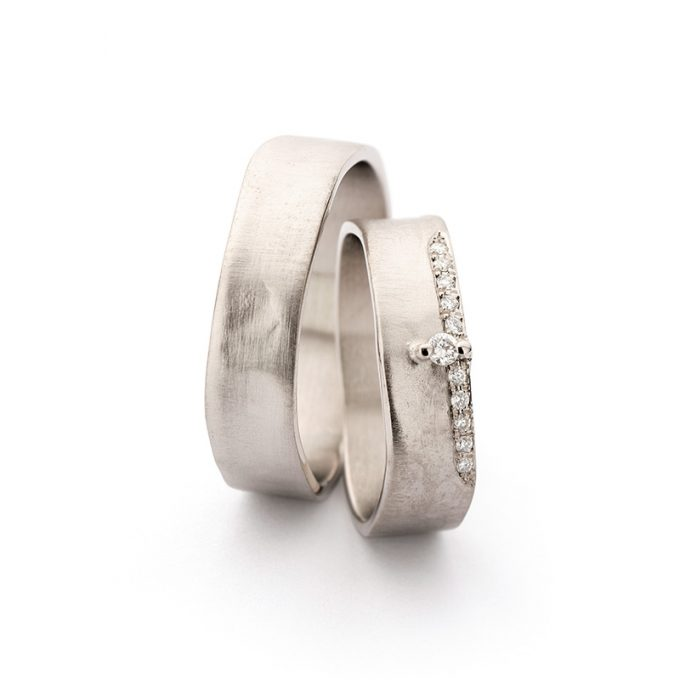 White gold wedding rings N° 11_2_11