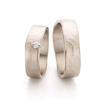 White gold wedding rings N° 11_2_1