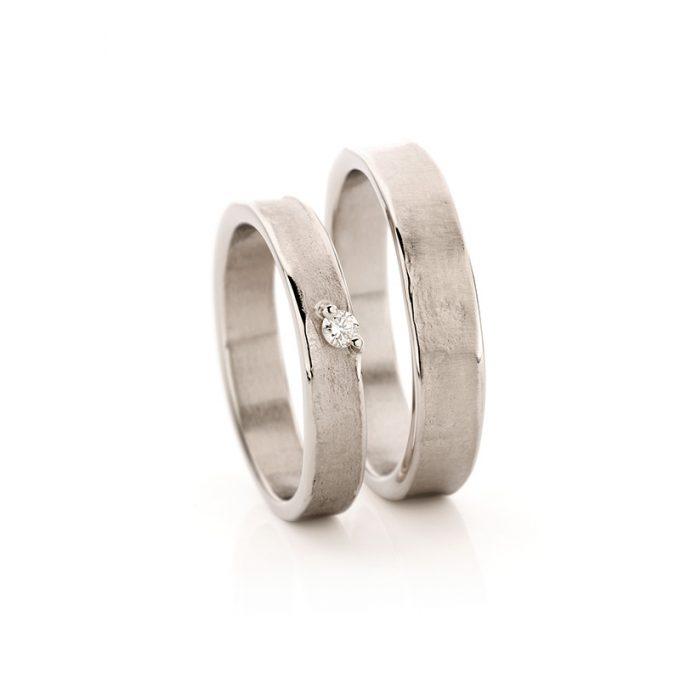 White gold wedding rings N° 21_1