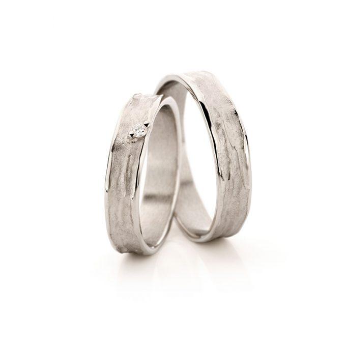White gold wedding rings N° 22_1