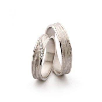 White gold wedding rings N° 22_7