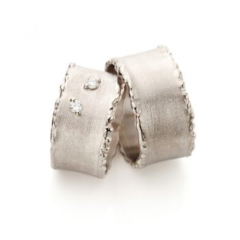White gold wedding rings N° 33_2