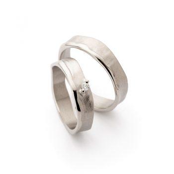 White gold wedding rings N° 51_1