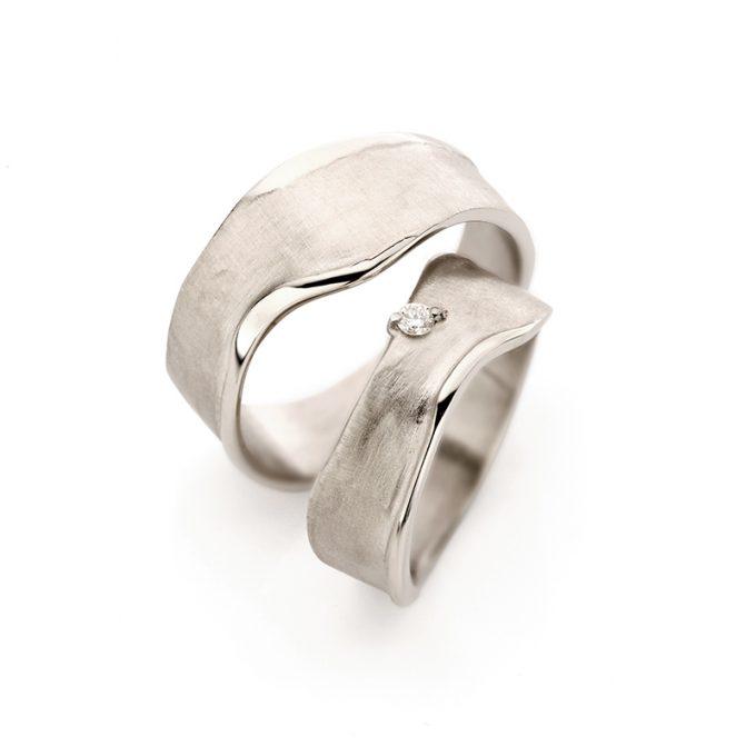 White gold wedding rings N° 8_1