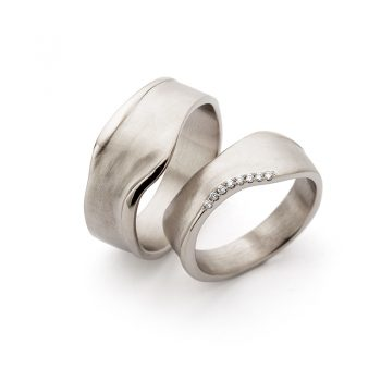White gold wedding rings N° 8_7