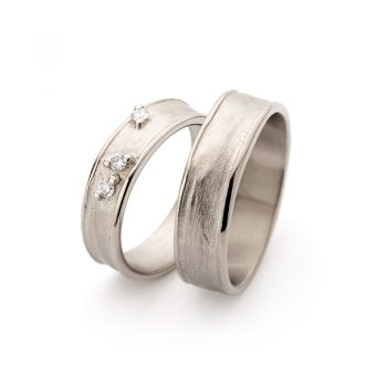 White gold wedding rings N° 9_3